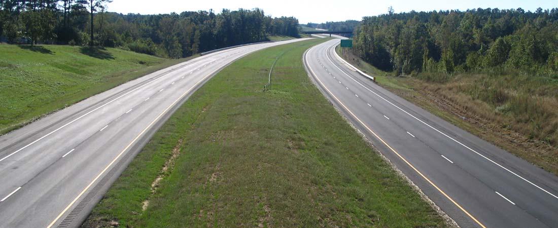 Four Lane Road Construction